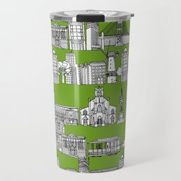San Francisco green Travel Mug