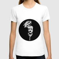 edgar allan poe T-shirts featuring Edgar Allan Poe collage by GraphicDivine