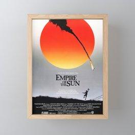 Empire Of The Sun - Movie Poster Framed Mini Art Print