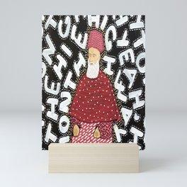 And I'm Going Down Mini Art Print