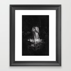The Hollow Framed Art Print