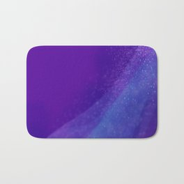 Purple Galaxy Bath Mat