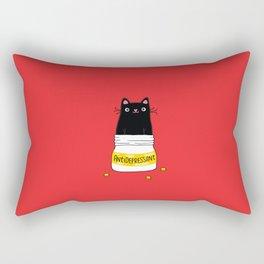 FUR ANTIDEPRESSANT Rectangular Pillow