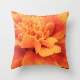 Marigold Summer Throw Pillow