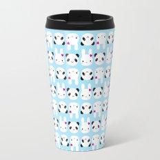 Super Cute Kawaii Bunny and Panda Travel Mug
