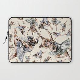 Hipster Ballerinas - Dog Cat Dancers Laptop Sleeve