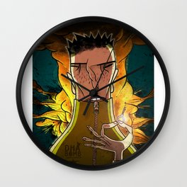 dah bomb Wall Clock
