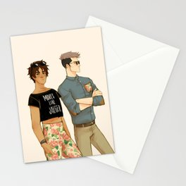 flowers in yo pants Stationery Cards