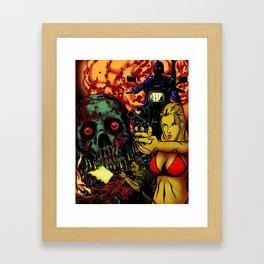 Bullet Orgy Framed Art Print