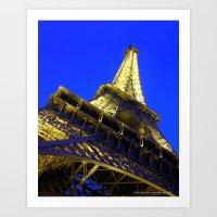Eiffell Tower Art Print
