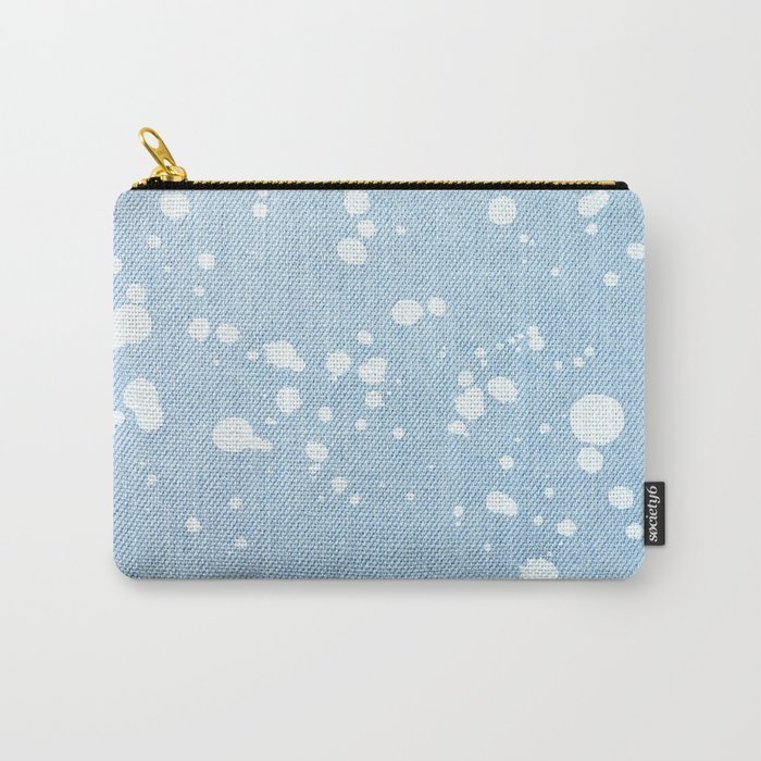 Stained jeans texture Carry-All Pouch