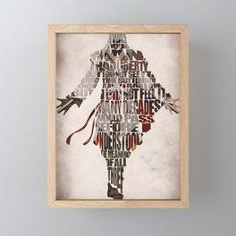 Ezio Auditore da Firenze from Assassin's Creed 2  Framed Mini Art Print