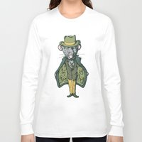 rat Long Sleeve T-shirts featuring Rat by Emeline Chauvin