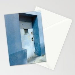 Blue Street Abstracts 7 Stationery Cards