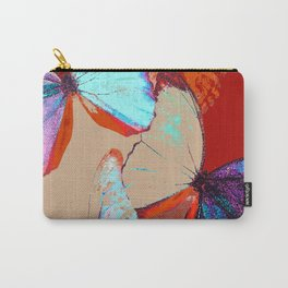 Butterflies in different colors Carry-All Pouch