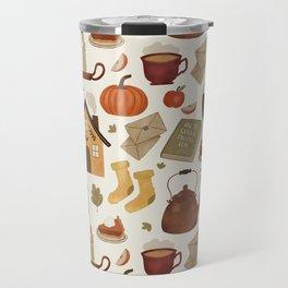 Autumn Cottage Days Travel Mug