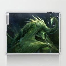 Green Crystal Dragon Laptop & iPad Skin