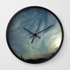 Beauty in the Sky Wall Clock