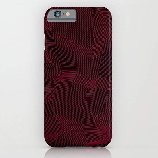 Facets - Dark Purple iPhone & iPod Case