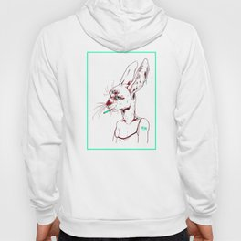 goopy rabbit Hoody