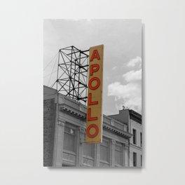 The Apollo Theatre Harlem Metal Print