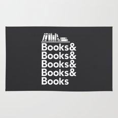 Books & Books & Books Rug