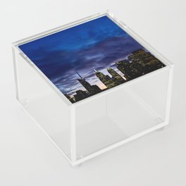 Skyline City Sunset Acrylic Box