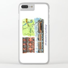 All Aboard to Lynchburg! Clear iPhone Case
