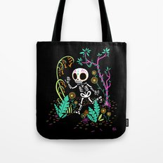 Sugar Skull Jungle Tote Bag
