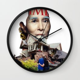 They grow so fast Wall Clock