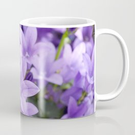 DREAMY - Purple flowers - Bellflower in the sun #1 Coffee Mug