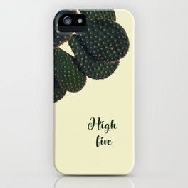 High Five iPhone Case