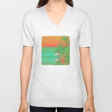 A Frame Dream Home Surf Paradise Unisex V-Neck