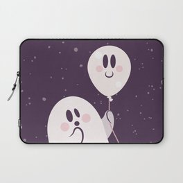 Pink Ghost and Friend Laptop Sleeve