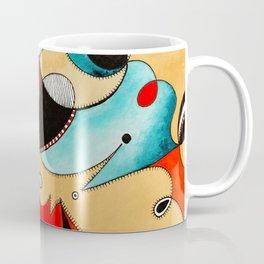 Abstract Tea Critters Coffee Mug