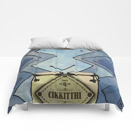 Cikkitthi from < Q > (Congas) Comforters