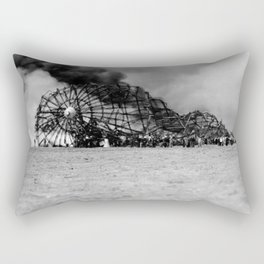 Zeppelin crash (Hindenburg) Rectangular Pillow