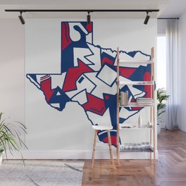 Lone Star State Love Wall Mural