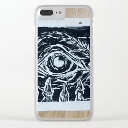 Death Anxiety Clear iPhone Case