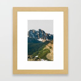 Transparencia Framed Art Print