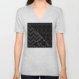 Geometric shapes . Unisex V-Neck