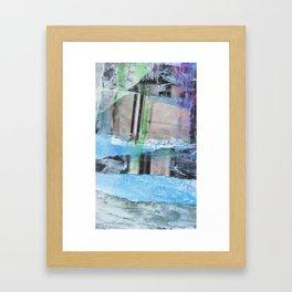 SiestaKeySalt Framed Art Print