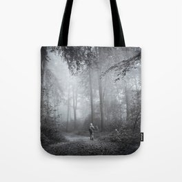 seeking silence Tote Bag