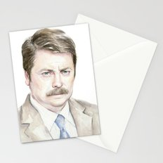 Swanson Watercolor Ron Stationery Cards