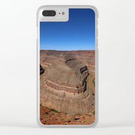 Meader Of The San Juan River Clear iPhone Case