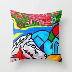 Sweet Escape Throw Pillow