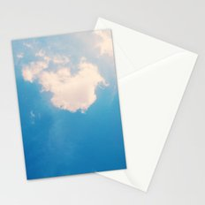 lazy cloud Stationery Cards