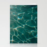pool Stationery Cards featuring Pool by Claudia
