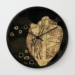 Coronary Contemporary 6 Wall Clock