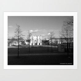 """""""Sans Souci"""" 2012 Art Print"""